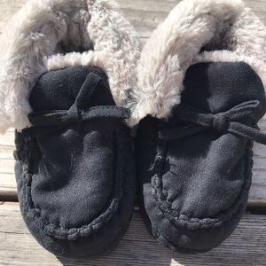 Other - Boys faux fur lined slippers NWOT